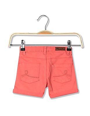 Cherokee Girls Solid Stretch Shorts