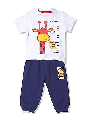 Donuts Boys T-Shirt And Joggers Set