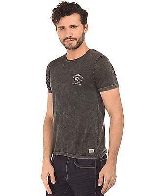 Ed Hardy Slim Fit Washed T-Shirt