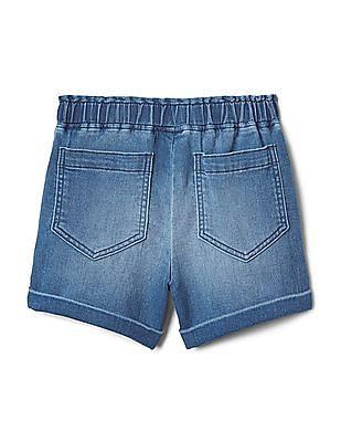 GAP Girls Denim Shorts In Fantastiflex