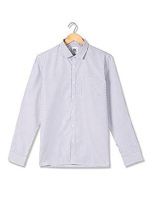 Excalibur Striped Long Sleeve Shirt