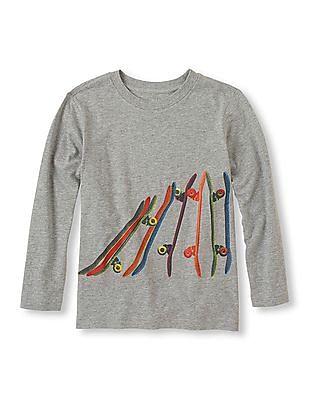 The Children's Place Boys Skateboard Print T-Shirt