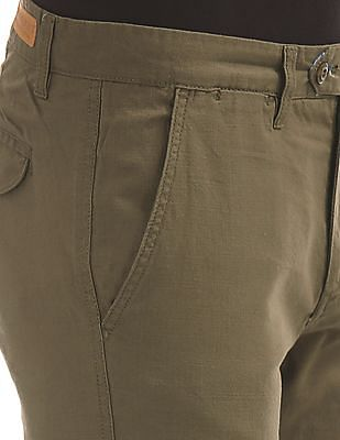 Ruggers Urban Slim Fit Cotton Trousers