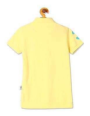 U.S. Polo Assn. Kids Boys Standard Fit Short Sleeve Polo Shirt