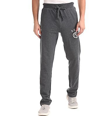 Aeropostale Skinny Fit Heathered Track Pants