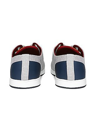 U.S. Polo Assn. Striped Canvas Sneakers