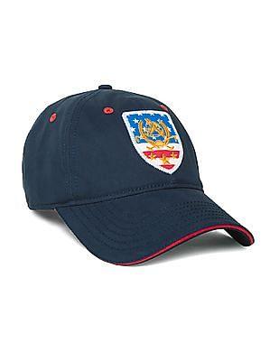 U.S. Polo Assn. Appliqued Panelled Cap