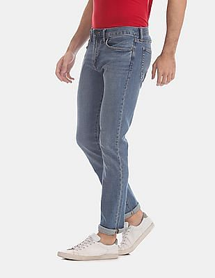 GAP Blue Slim Fit Light Wash Jeans