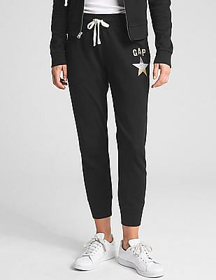 GAP Metallic Logo Joggers