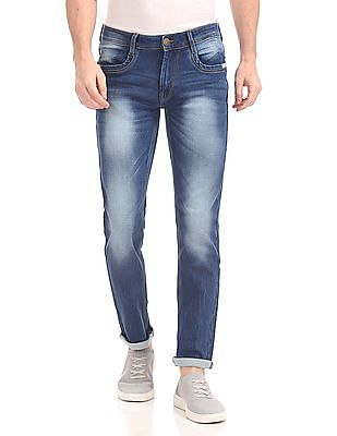 Ruf & Tuf Slim Fit Washed Jeans