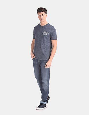 GAP Men Blue Slim Fit Mid Rise Jeans