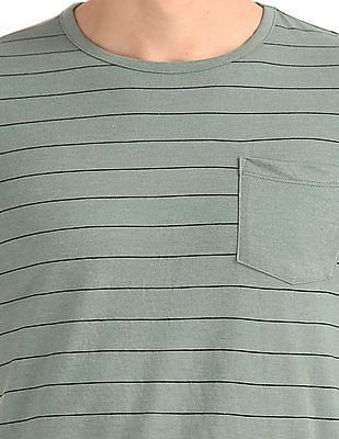 Cherokee Slim Fit Striped T-Shirt