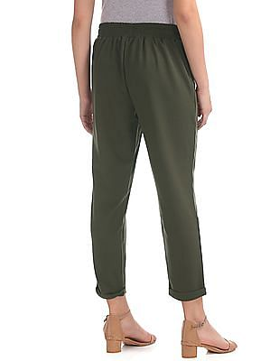 SUGR Solid Pleated Front Pants