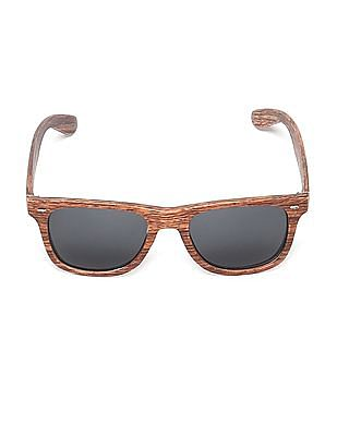 Flying Machine Printed Frame Tinted Sunglasses