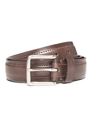 U.S. Polo Assn. Textured Leather Belt
