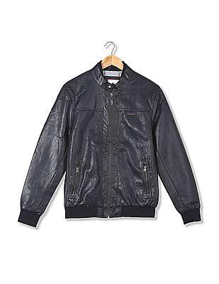 U.S. Polo Assn. Panelled Biker Jacket