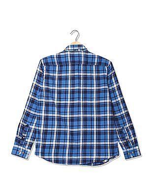 Izod Long Sleeve Check Shirt