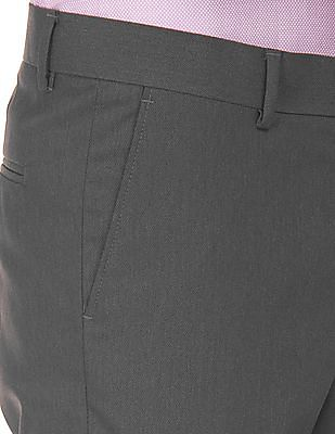 Excalibur Mid Rise Super Slim Fit Trousers