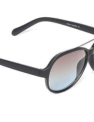 Flying Machine Oval Frame Sunglasses