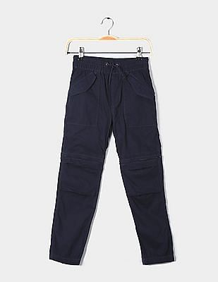 GAP Boys Zip-Off Utility Joggers