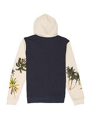 FM Boys Boys Colour Block Hooded Sweatshirt
