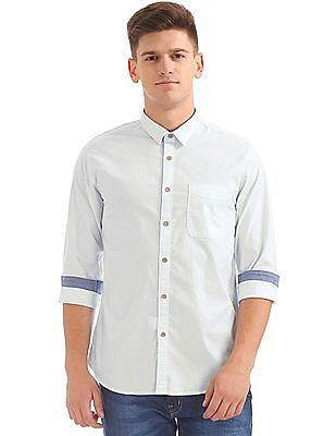 Cherokee Contemporary Fit Striped Shirt