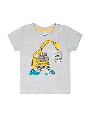Donuts Boys Printed Cotton T-Shirt