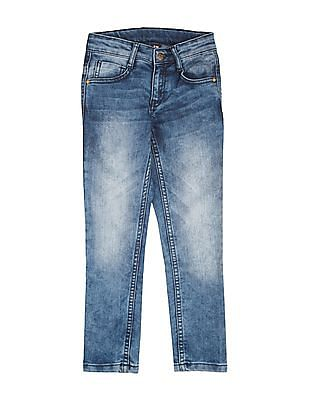 FM Boys Boys Washed Slim Fit Jeans