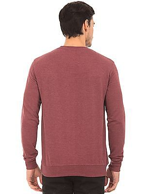 Cherokee Crew Neck Heathered Sweatshirt