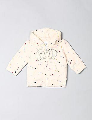 GAP Baby Printed Hooded Sweatshirt