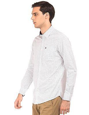 Arrow Sports Paisley Print Slim Fit Shirt