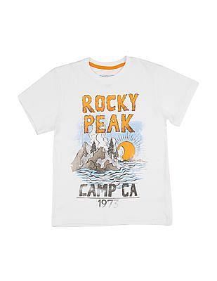 Cherokee Boys Printed T-Shirt - Pack Of 5