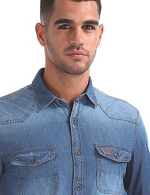 U.S. Polo Assn. Denim Co. Slim Fit Denim Shirt