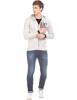 U.S. Polo Assn. Denim Co. Hooded Zip Up Sweatshirt