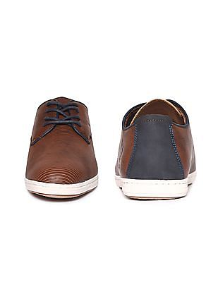 U.S. Polo Assn. Contrast Lace Up Derby Shoes