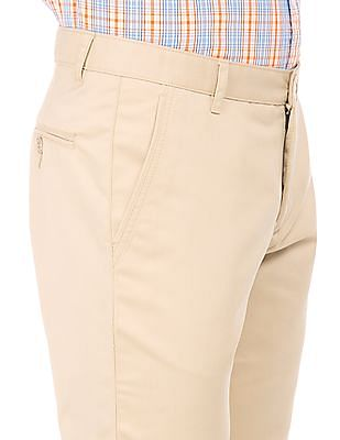 Ruggers Mid Rise Slim Fit Chinos