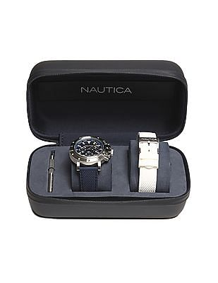 Nautica Water Resistant Chronograph Watch