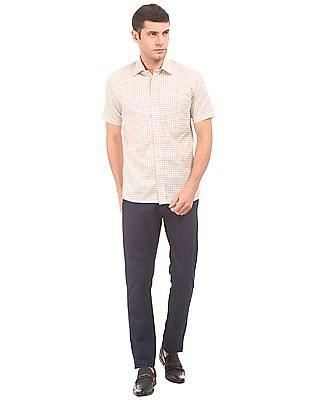 Arrow Regular Fit Gingham Shirt