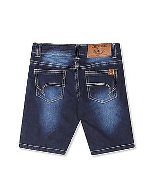 Cherokee Blue Boys Regular Fit Denim Shorts