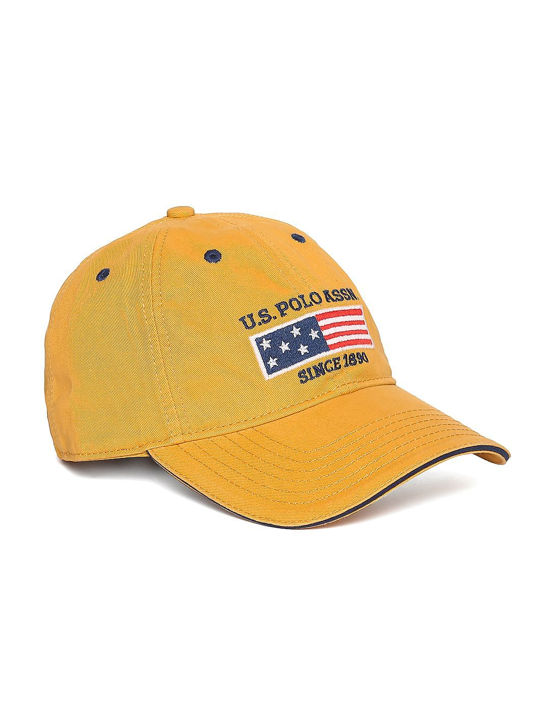 Buy Men Logo Flag Twill Baseball Cap Online At Nnnow Com