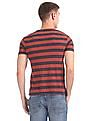 Flying Machine Striped Crew Neck T-Shirt