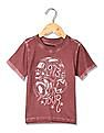Cherokee Boys Washed Printed T-Shirt