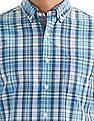 Nautica Long Sleeve Plaid Shirt