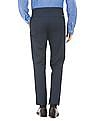 Arrow Sports Patterned Slim Fit Trousers
