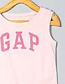 GAP Girls Pink Logo Tank