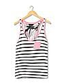 Aeropostale Striped Racerback Tank top