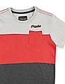Cherokee Boys Panelled Colour Block T-Shirt