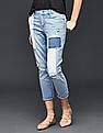 GAP Women Blue Authentic 1969 Patchwork Best Girlfriend Jeans