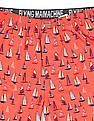 Flying Machine Boat Print Cotton Boxers