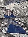 SUGR Multi Colour Geometric Print Stole
